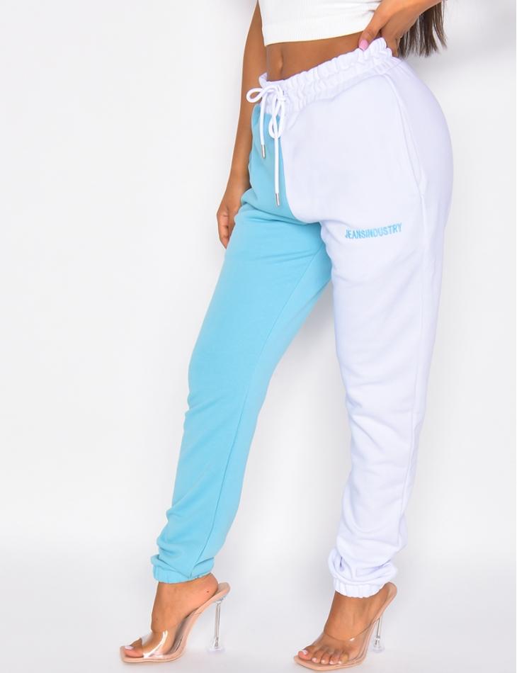 """Jogging bi-color """"Jeans Industry"""""""