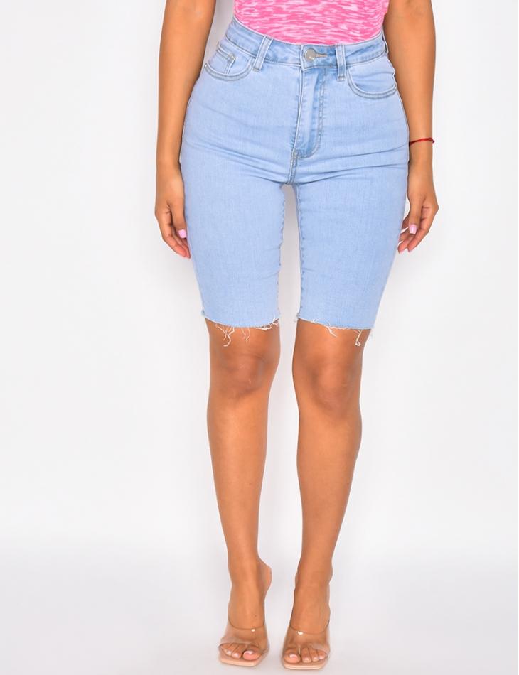 Lange Shorts High Waist