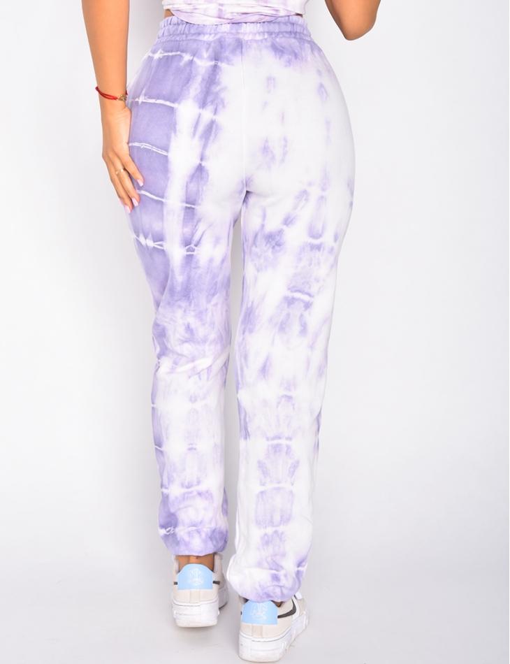Pantalon de jogging tie and dye