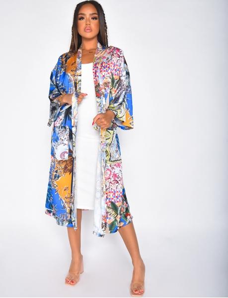 Kimono motif tropical