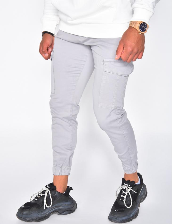 Pantalon cargo à poches