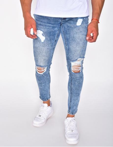 Jeans destroy homme