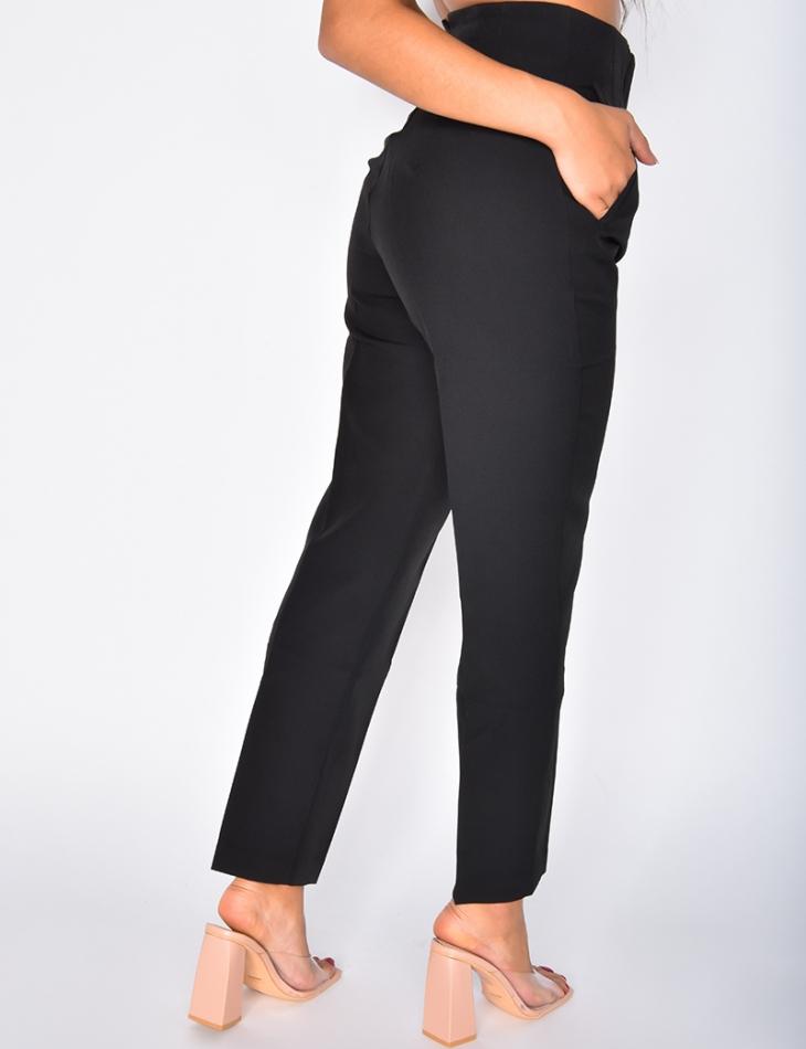 Pantalon de tailleur à poches
