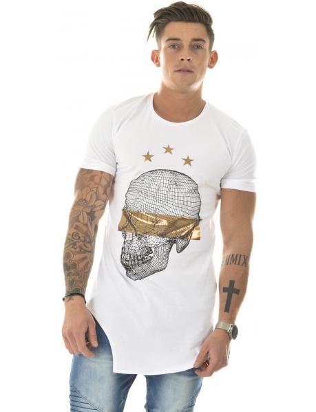 T-shirt By Studio oversize skull