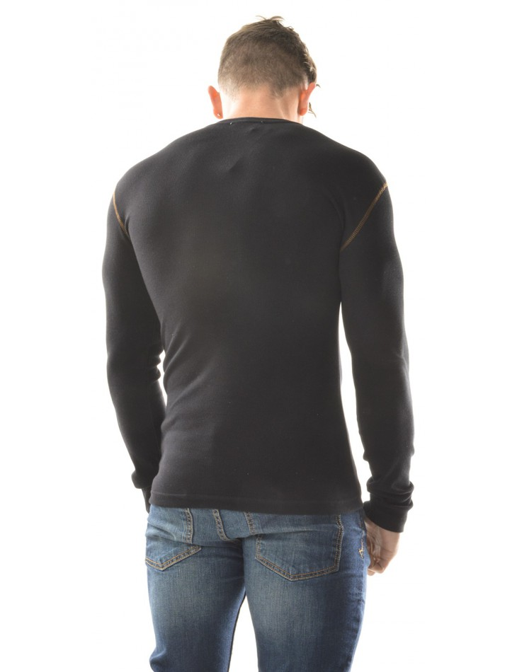 Men's T-shirt with Contrasting Pocket