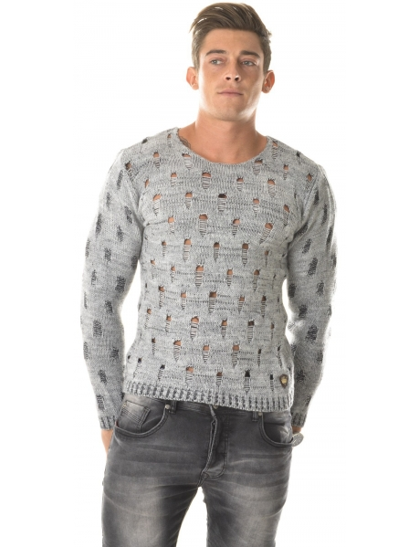 Exclusive Jumper in Openwork Wool